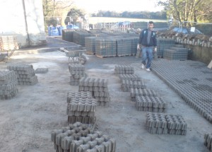 Ongoing work of the Car park 2008